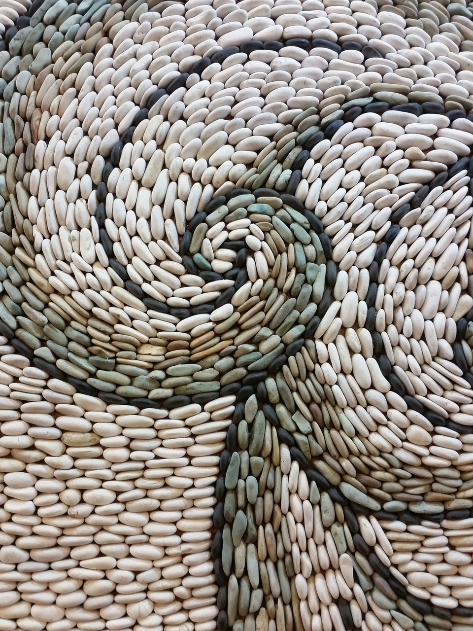 pebble and cobble patterns